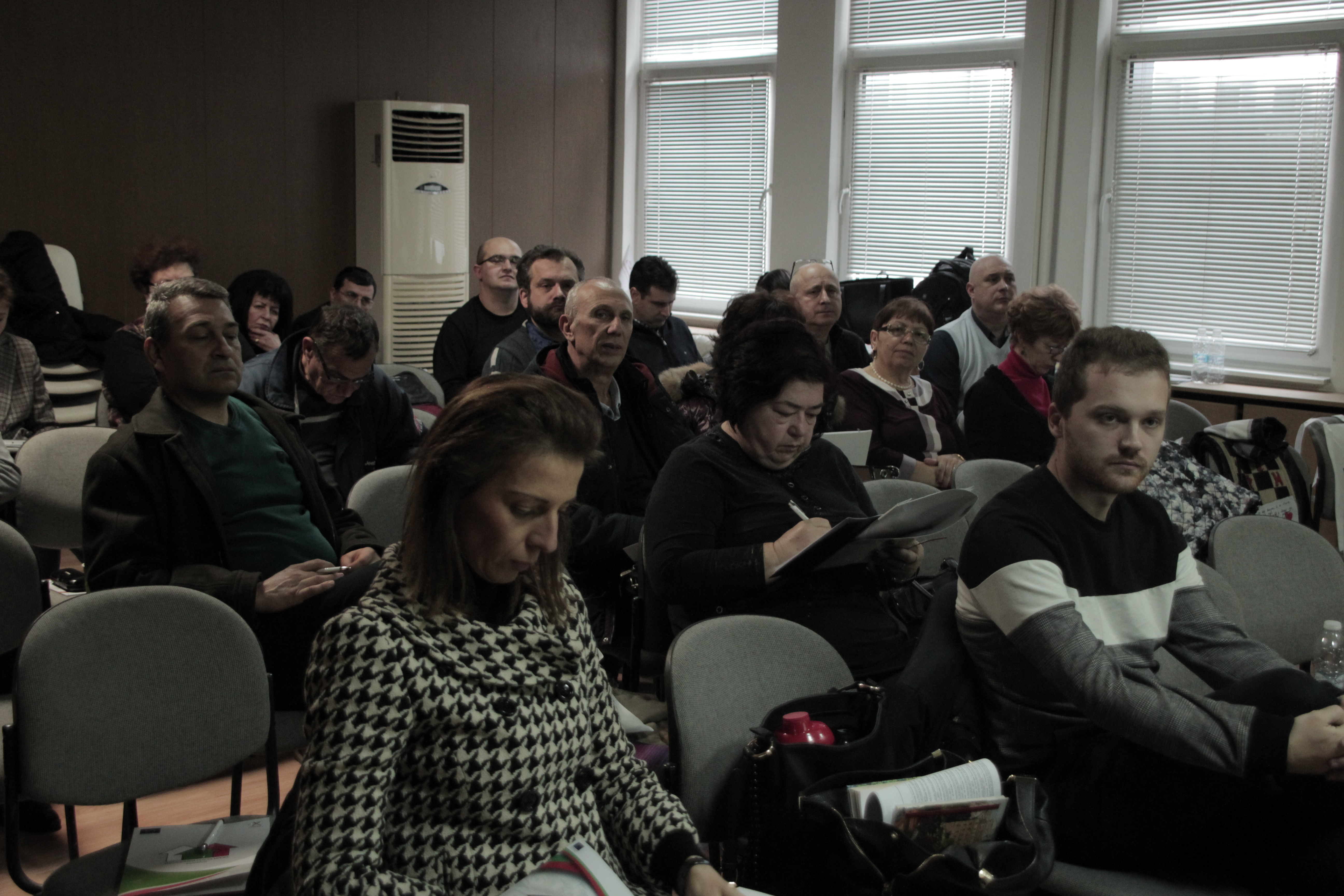 РАБОТНА СРЕЩА  за надграждане на капацитет на регионалните координатори от ЗУ на НСМ