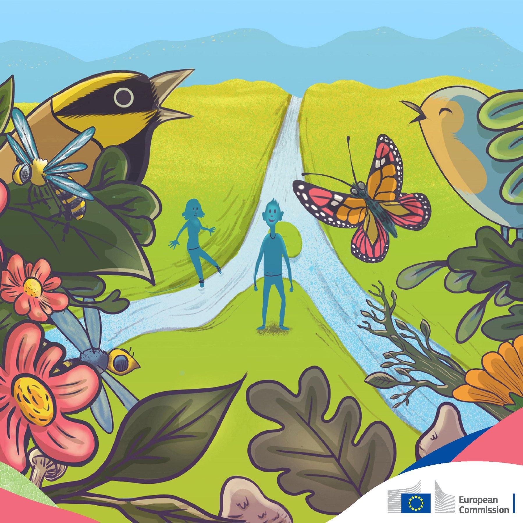 ЕК публикува всеобхватна нова Стратегия за биологичното разнообразие 2030