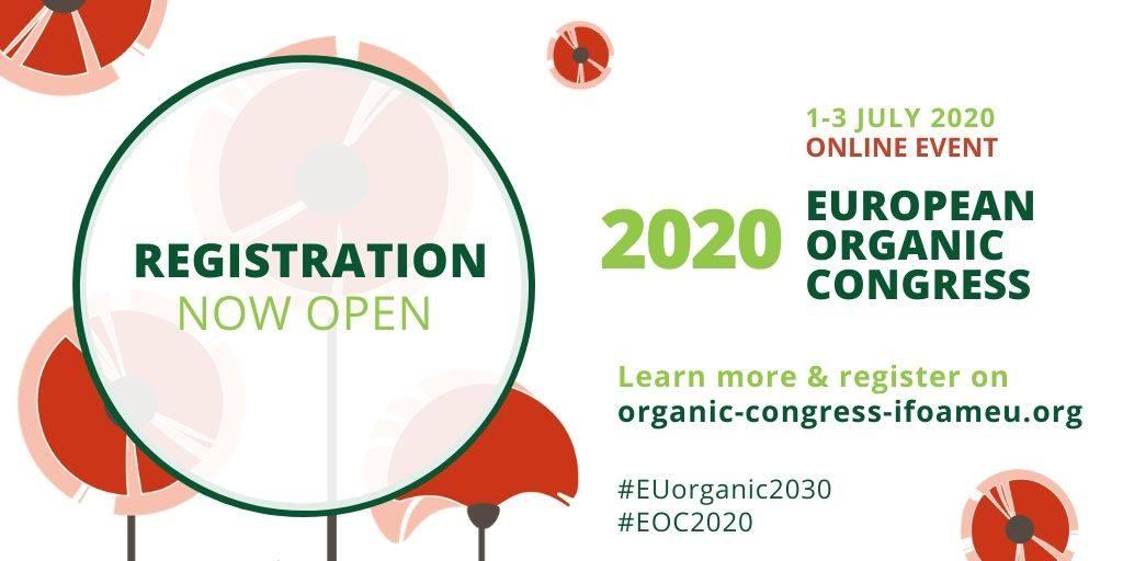 Он-лайн на 1-3 юли: European Organic Congress 2020