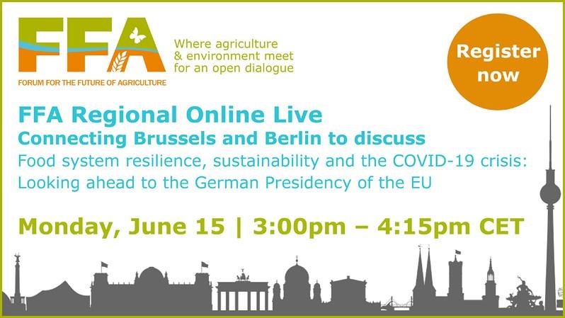 Он-лайн на 15 юни: Международен форум за бъдещето на земеделието, FFA 2020