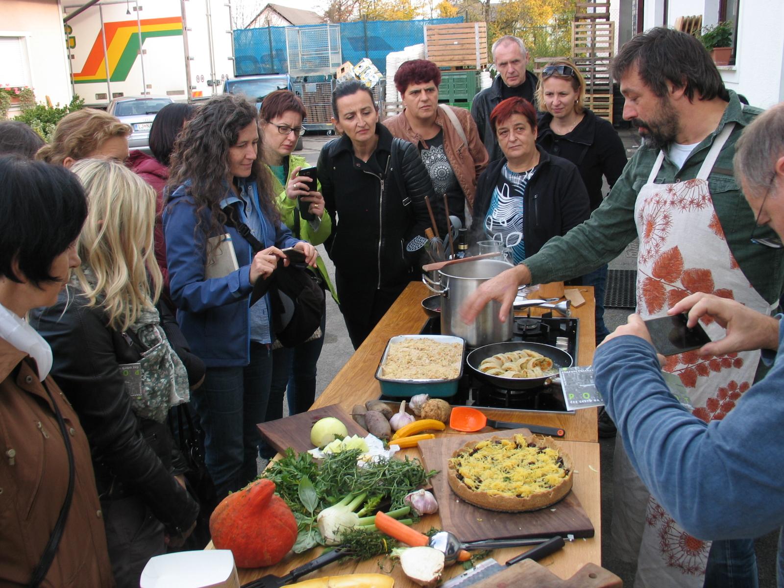 Вдъхновяваща идея от ЕПИ-АГРИ: Местни фермери, произвеждат храна за детски ясли и начални училища в Любляна