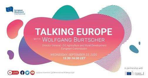 23 септември: Онлайн дискусия с Волфганг Бурчер по Зелената сделка и бъдещето на агро-хранителния сектор на ЕС