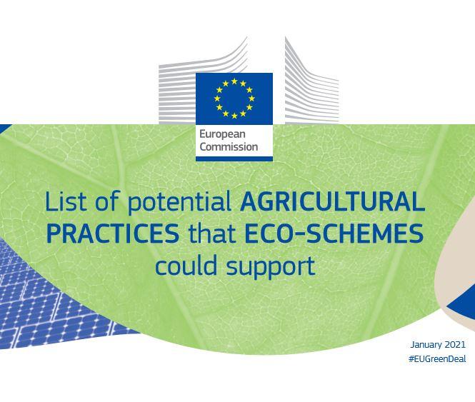Списък на ЕК с потенциални селскостопански практики за еко-схеми в ОСП 2023- 2027
