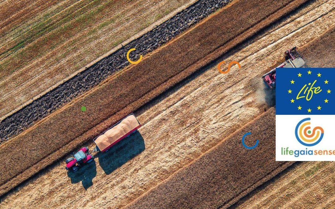 LIFE GAIA Sense – Иновативни услуги за интелигентно земеделие в подкрепа на кръговата икономика в селското стопанство