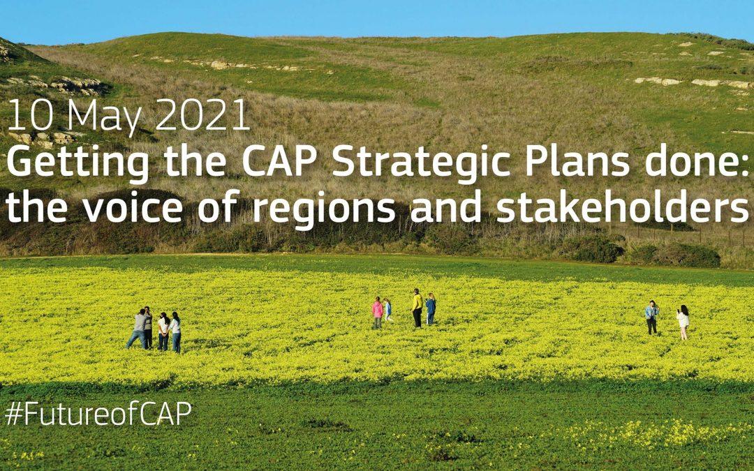 """Уебинар на ENRD и ЕК на 10 май """"Изготвяне на Стратегическите планове по ОСП: гласът на регионите и заинтересованите страни"""""""