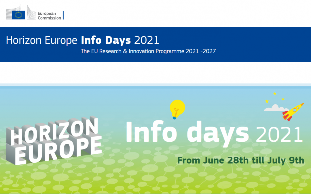 "28 юни – 9 юли: Информационни дни по програма ""Хоризонт Европа"" 2021-2027"