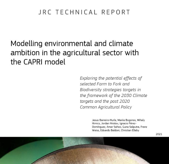 """Проучване на JRC върху стратегиите """"От фермата до трапезата"""" и """"Биологично разнообразие"""""""