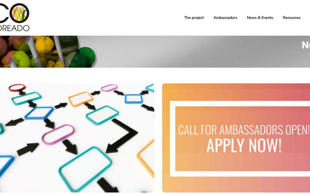 До 21 ноември може да кандидатствате за посланик на иновативната пан-Европейска посланическа мрежа на COCOREADO. Вижте възможностите!